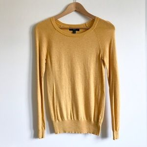 Yellow Pullover Sweater Women's Small